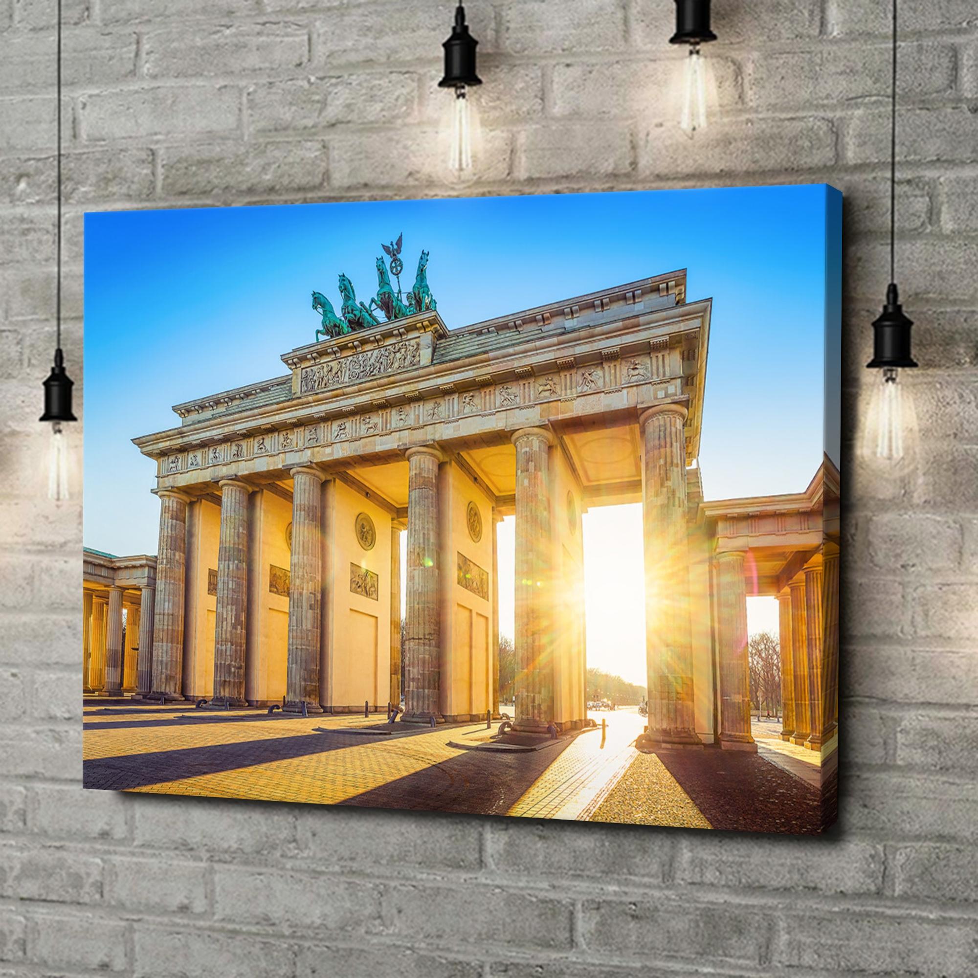 Leinwandbild personalisiert Brandenburger Tor