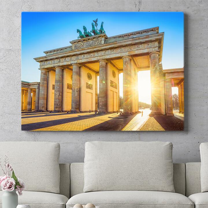 Personalisierbares Geschenk Brandenburger Tor