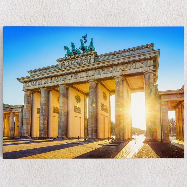 Personalisiertes Leinwandbild Brandenburger Tor