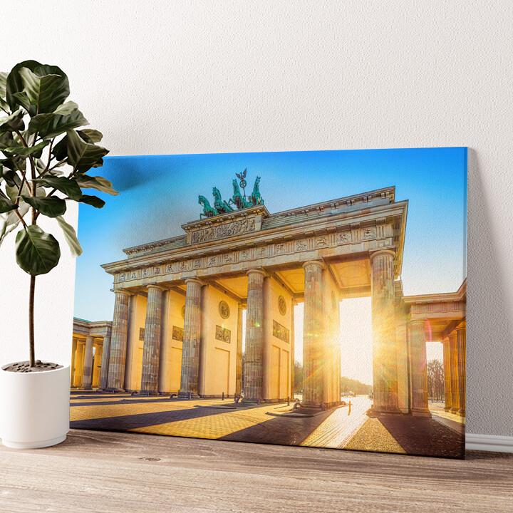 Brandenburger Tor Wandbild personalisiert