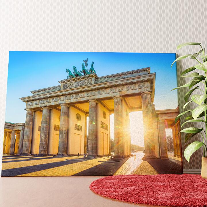 Personalisiertes Wandbild Brandenburger Tor