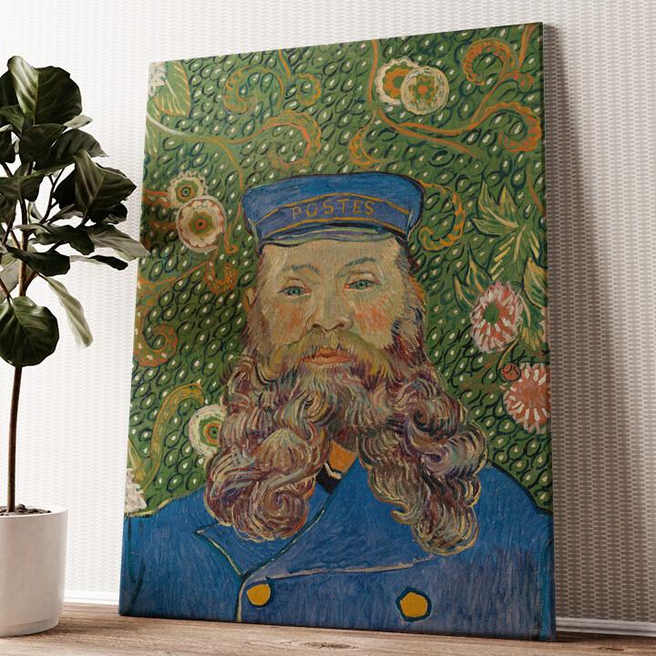 Der Briefträger Joseph Roulin Wandbild personalisiert
