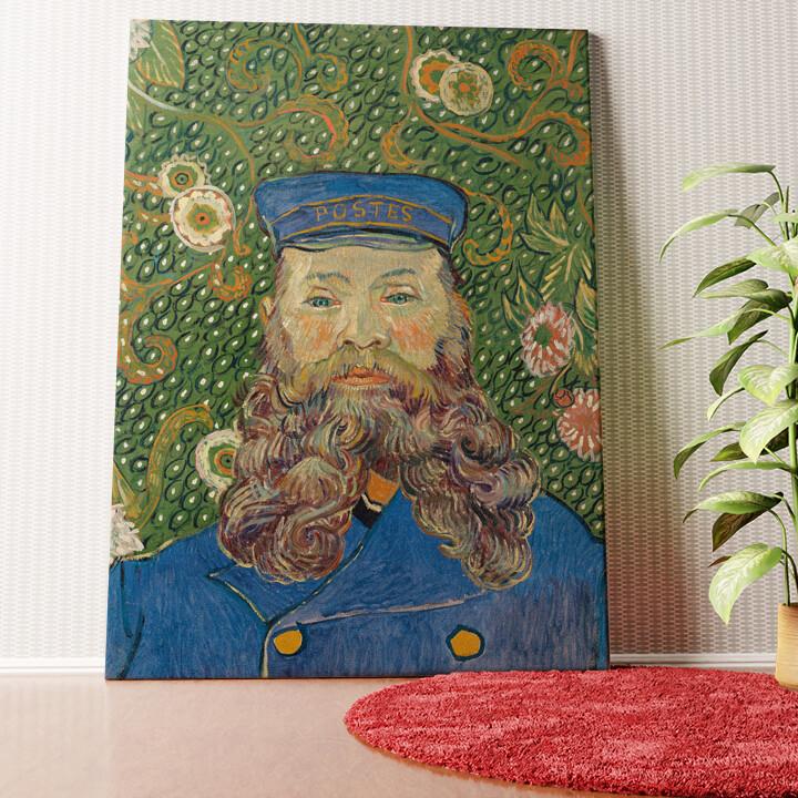 Personalisiertes Wandbild Der Briefträger Joseph Roulin