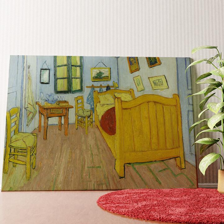 Personalisiertes Wandbild Schlafzimmer in Auvers