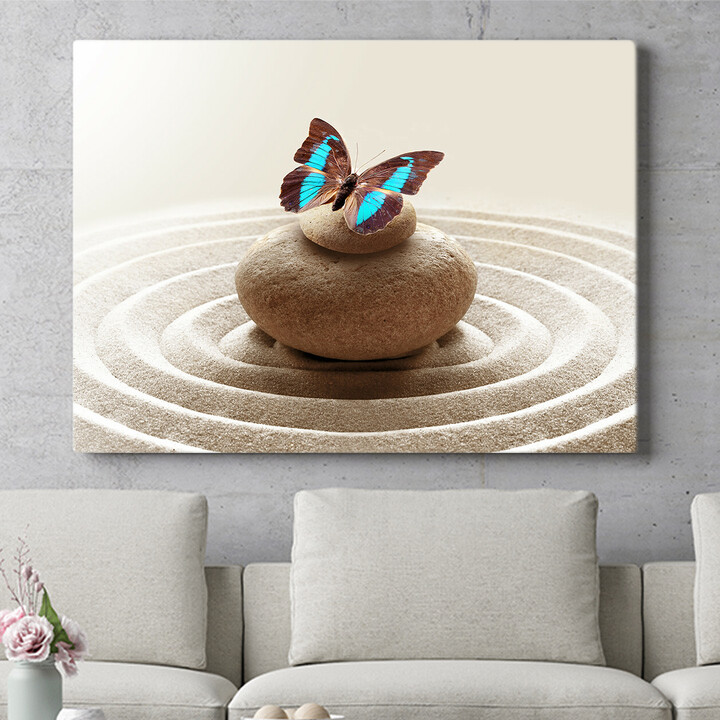 Personalisierbares Geschenk Harmonische Zen Steine