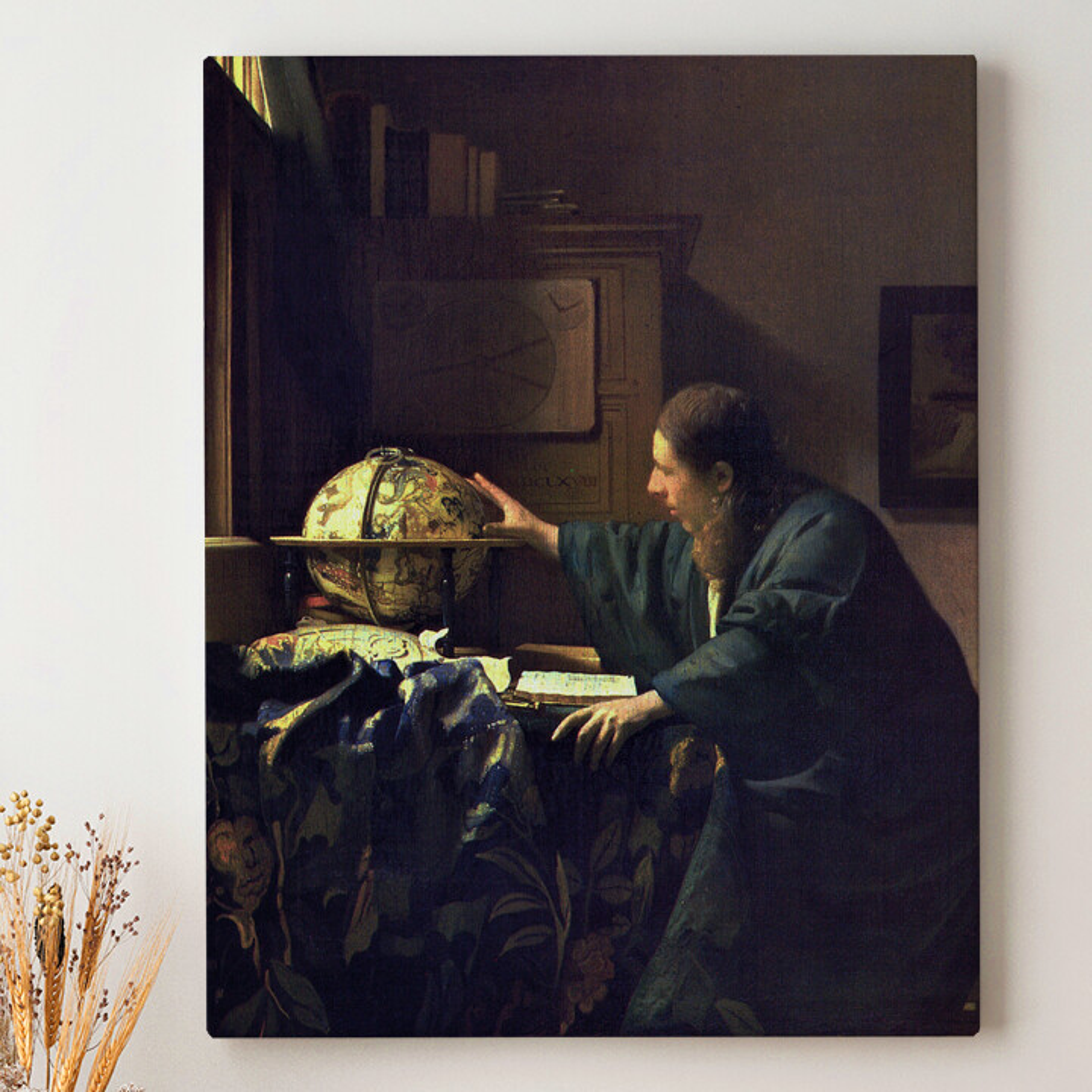 Leinwandbild personalisiert Der Astronom
