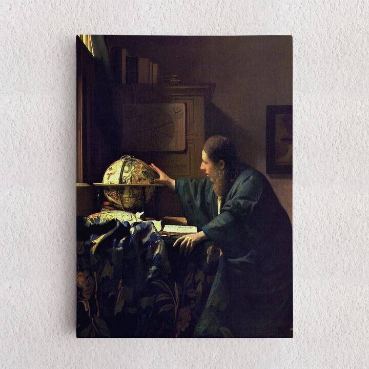 Personalisiertes Leinwandbild Der Astronom