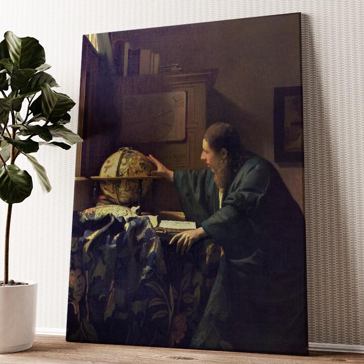 Der Astronom Wandbild personalisiert