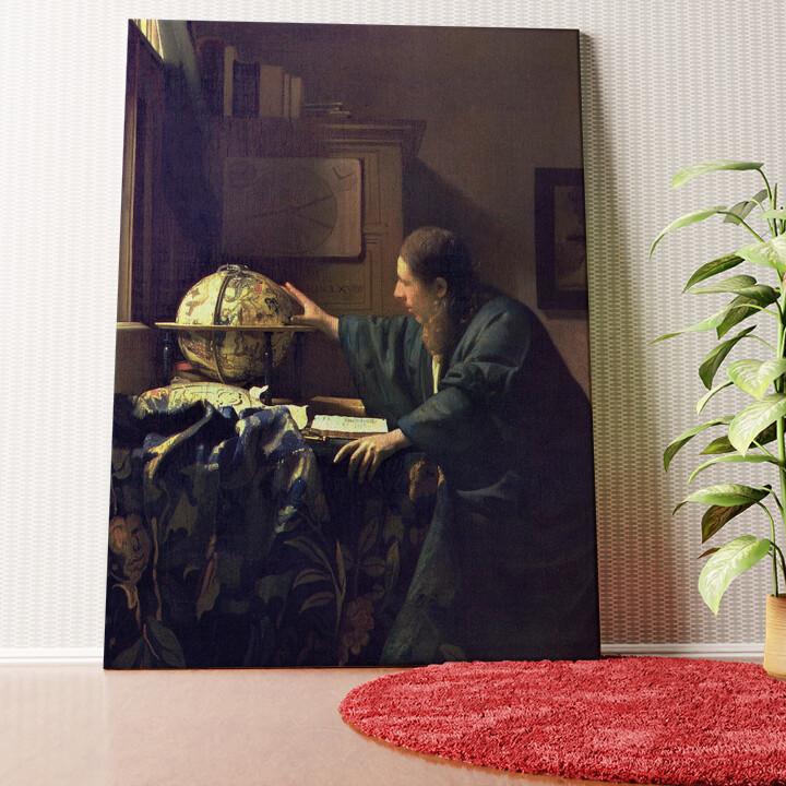 Personalisiertes Wandbild Der Astronom