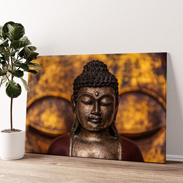 Buddha Wandbild personalisiert