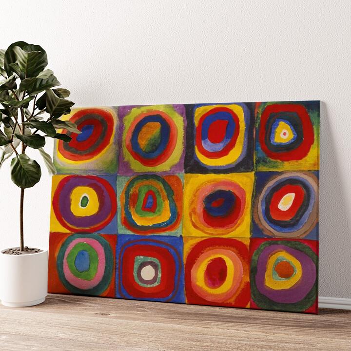 Farbstudie Wandbild personalisiert