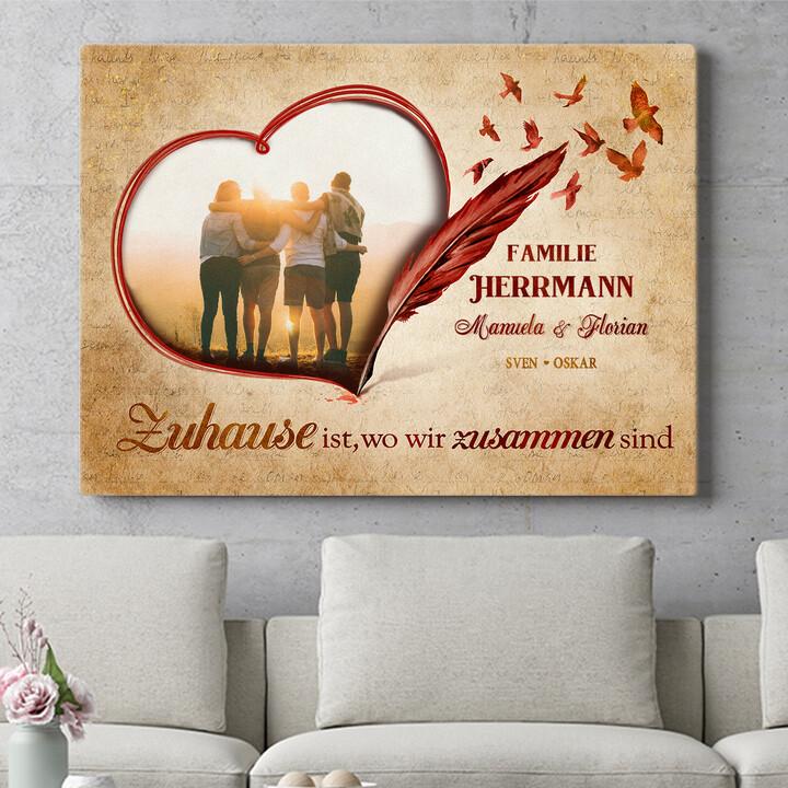 Personalisierbares Geschenk Familiengeschichte