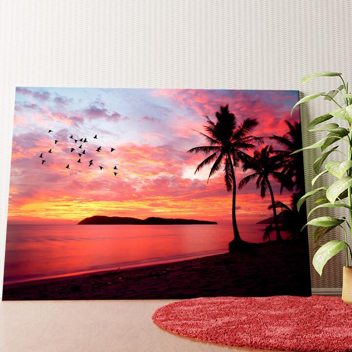 Personalisiertes Wandbild Insel Rebak Malaysia