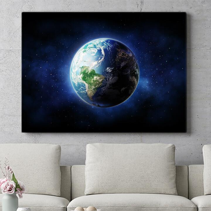 Personalisierbares Geschenk Erde