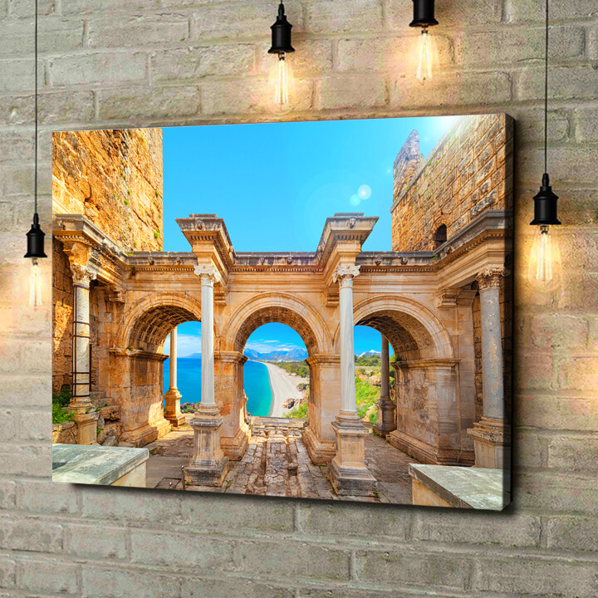 Leinwandbild personalisiert Hadrian Tor Antalya
