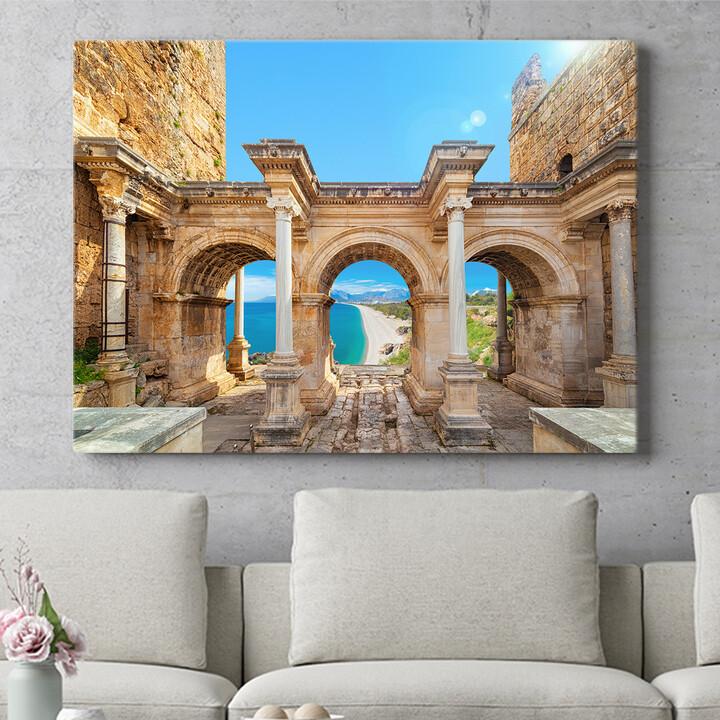 Personalisierbares Geschenk Hadrian Tor Antalya