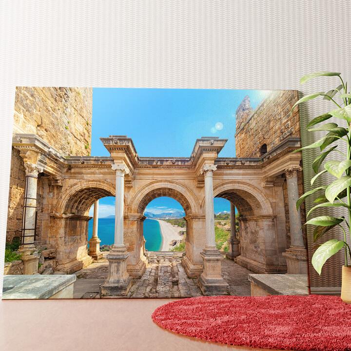 Personalisiertes Wandbild Hadrian Tor Antalya
