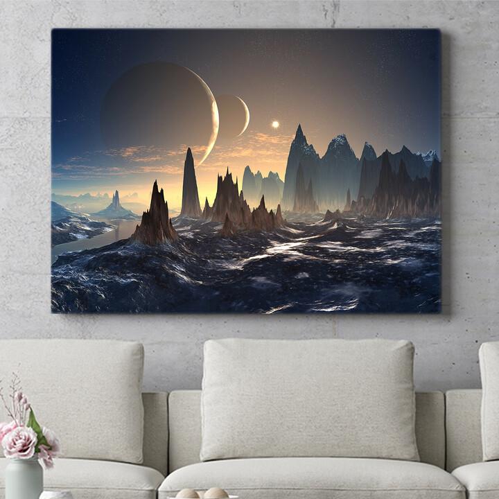 Personalisierbares Geschenk Fantasy Alien Planet