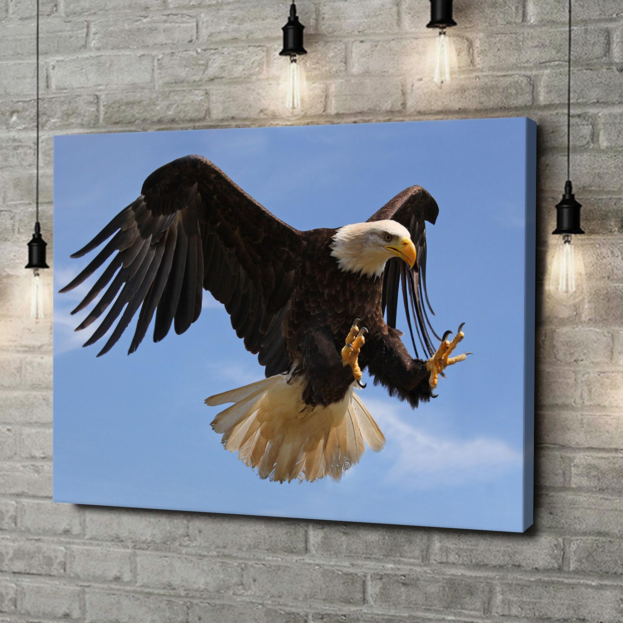 Leinwandbild personalisiert Adler
