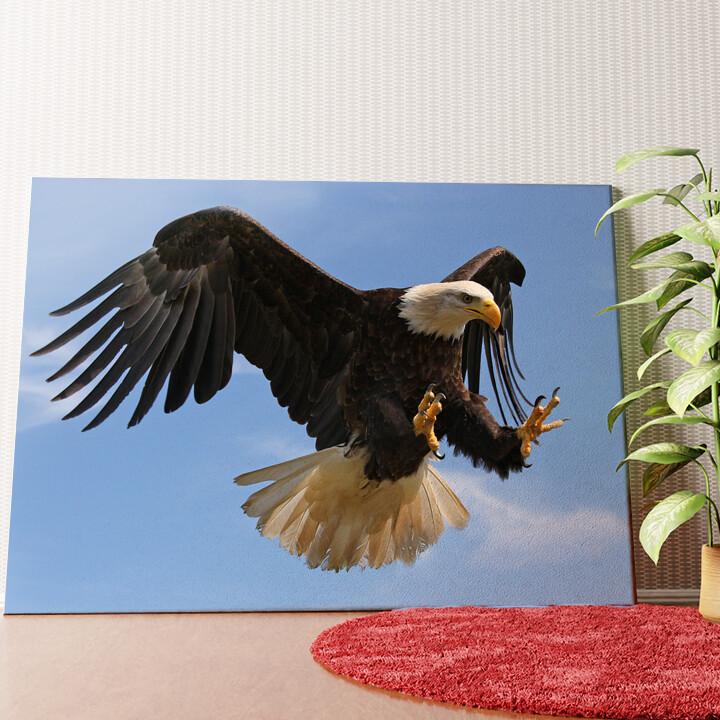 Personalisiertes Wandbild Adler