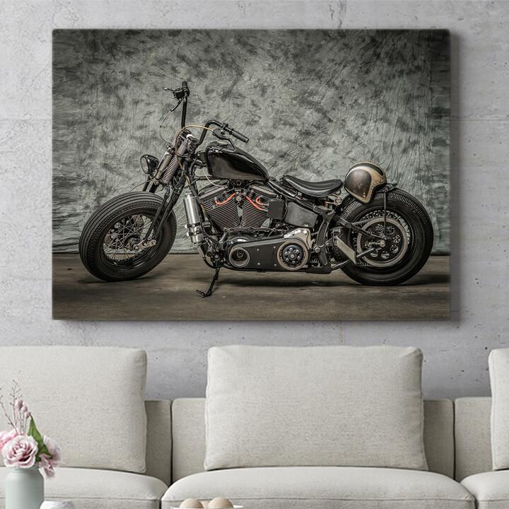 Personalisierbares Geschenk Chopper Bike
