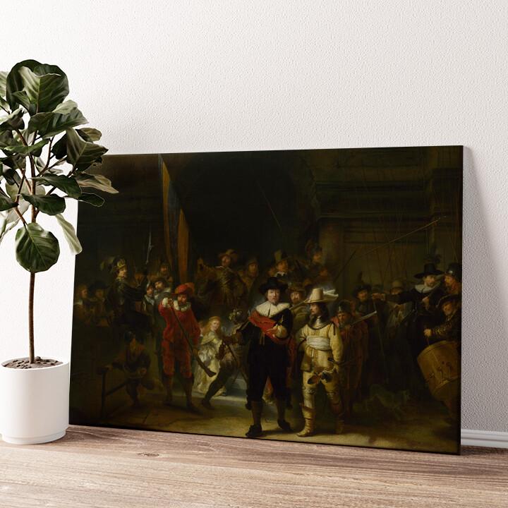 Die Nachtwache Wandbild personalisiert