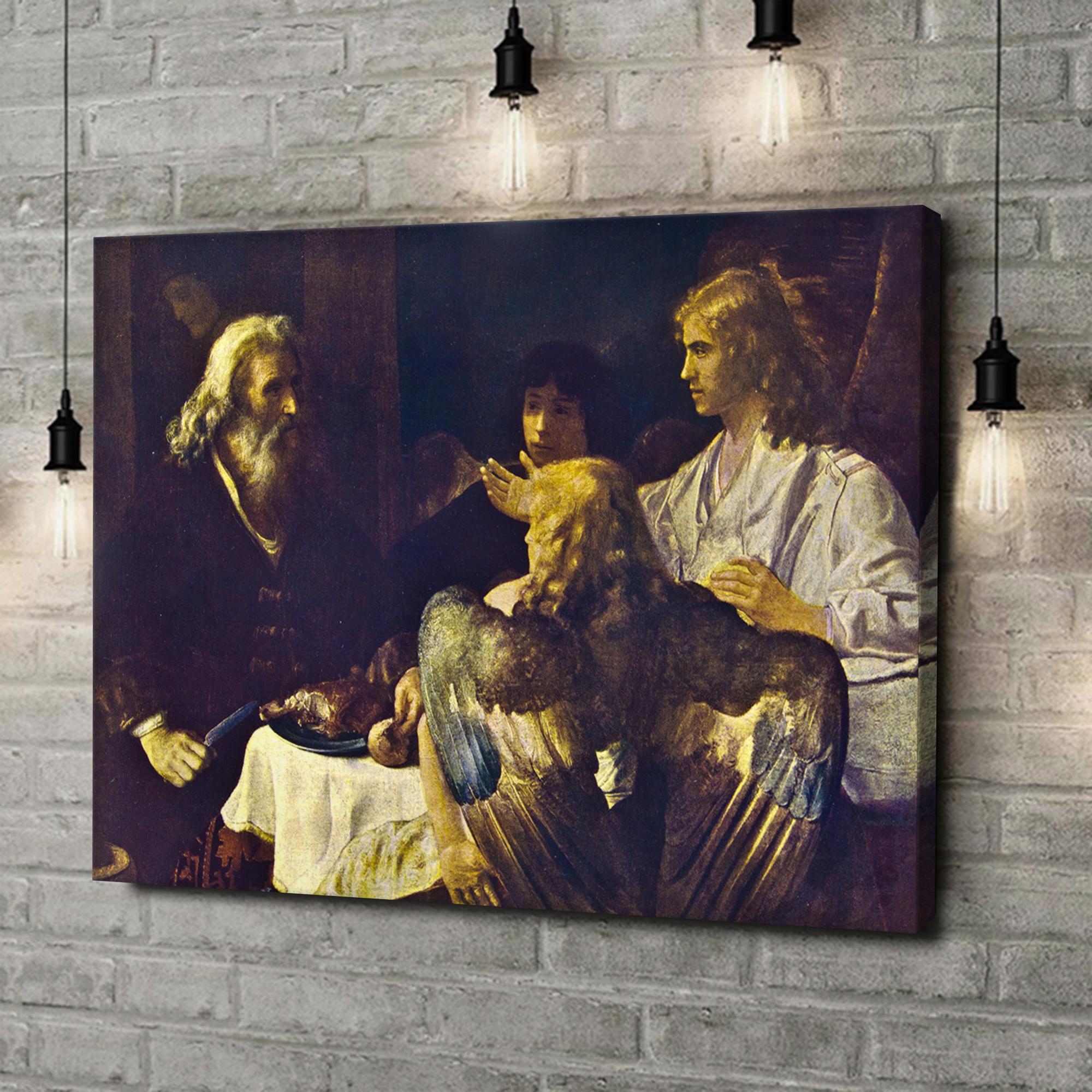 Leinwandbild personalisiert Abraham und die drei Engel
