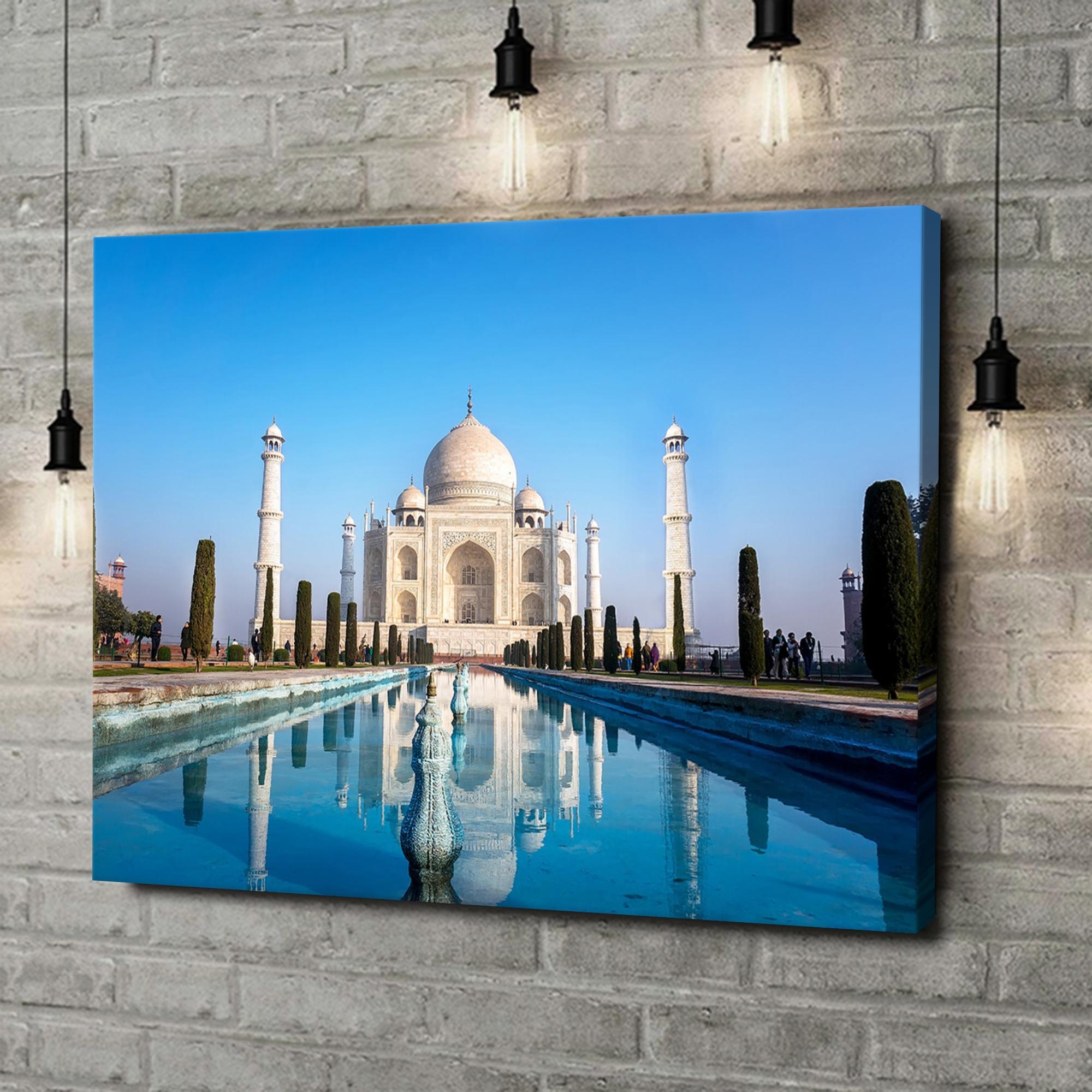 Leinwandbild personalisiert Taj Mahal Indien