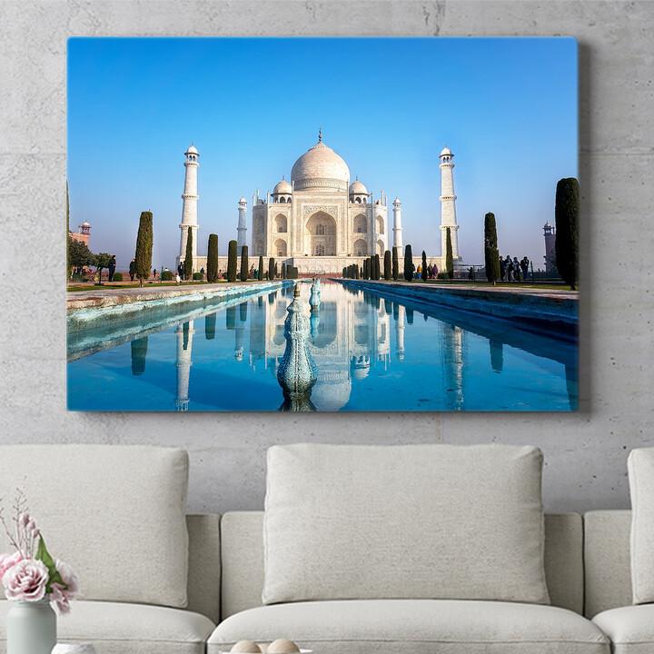 Personalisierbares Geschenk Taj Mahal Indien