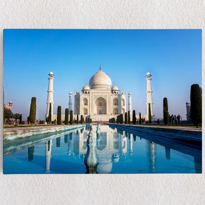 Personalisiertes Leinwandbild Taj Mahal Indien