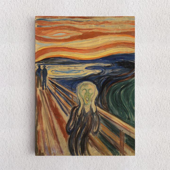 Personalisiertes Leinwandbild Der Schrei