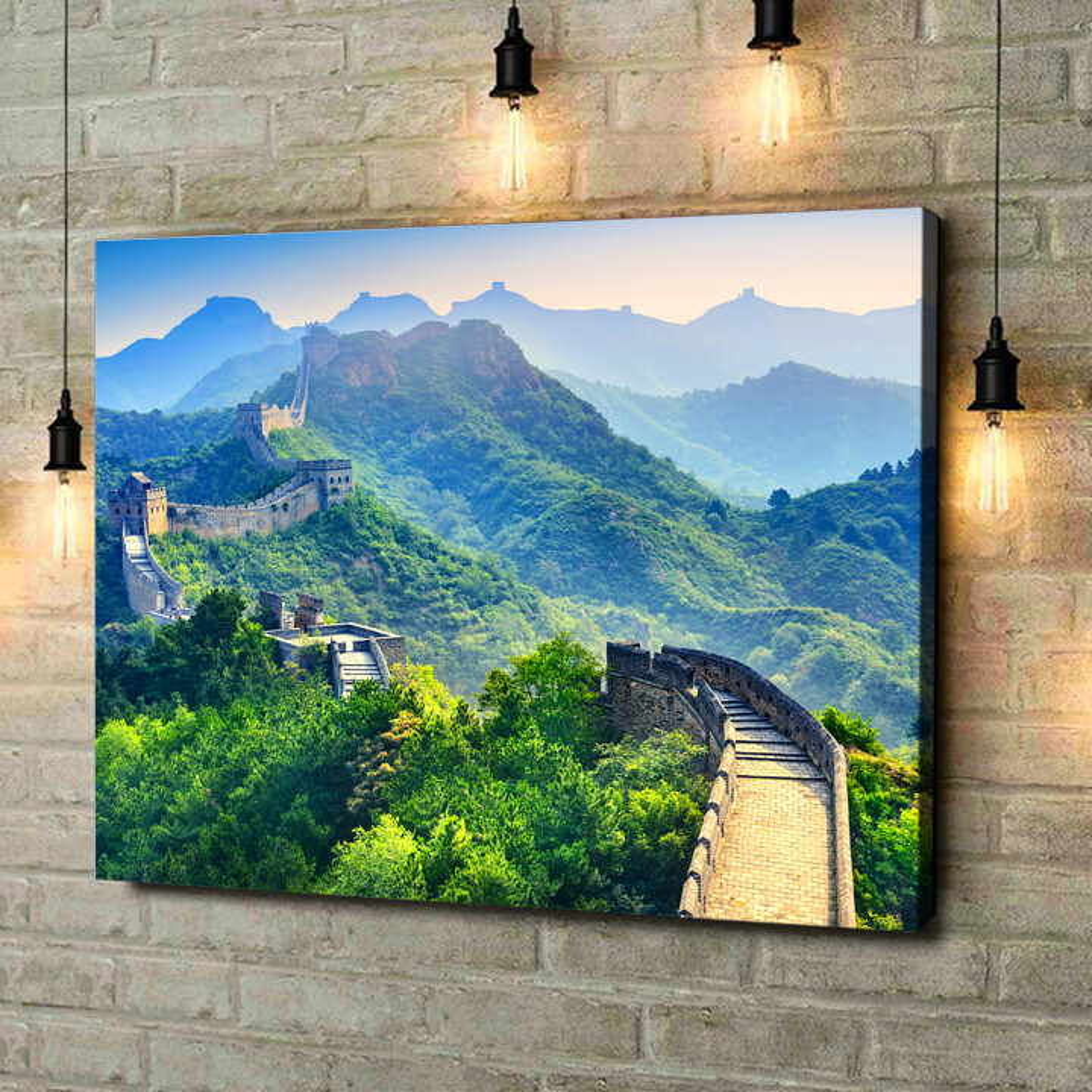 Leinwandbild personalisiert Chinesische Mauer