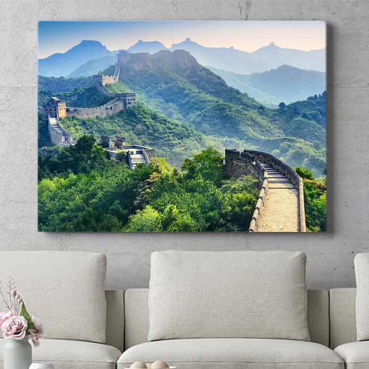 Personalisierbares Geschenk Chinesische Mauer