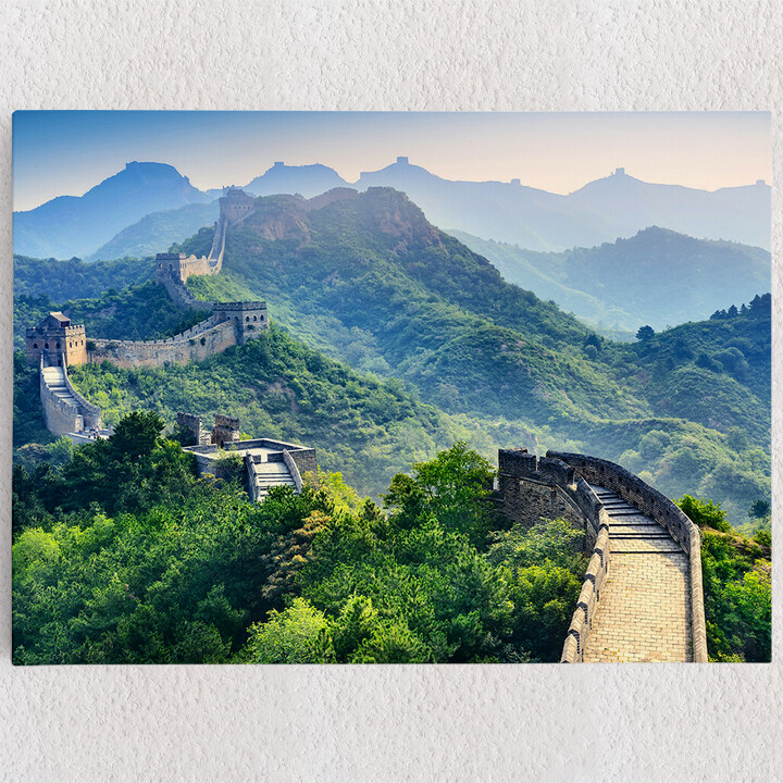 Personalisiertes Leinwandbild Chinesische Mauer