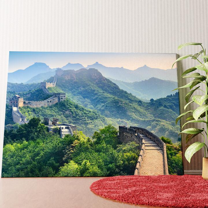 Personalisiertes Wandbild Chinesische Mauer