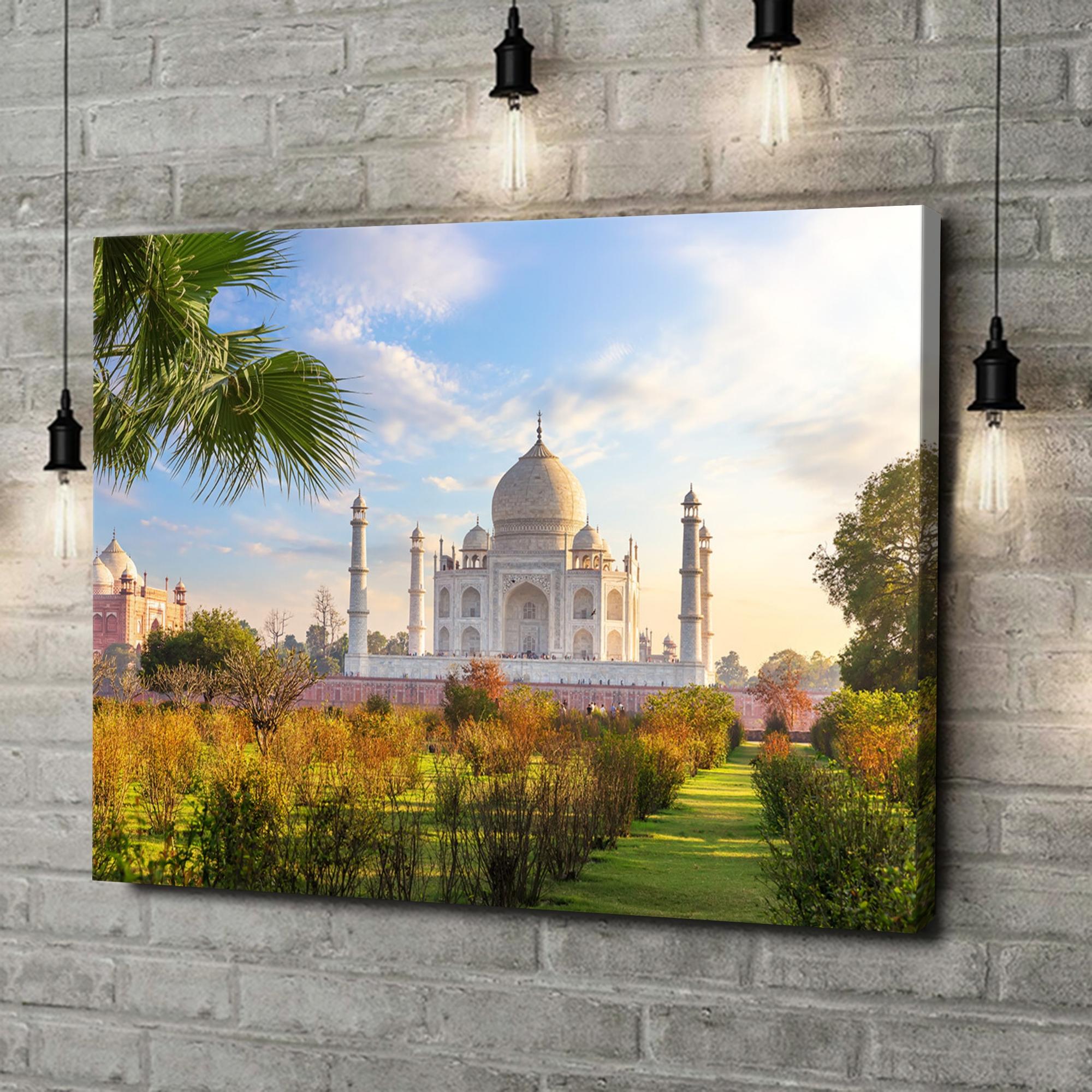 Leinwandbild personalisiert Taj Mahal Indien 2