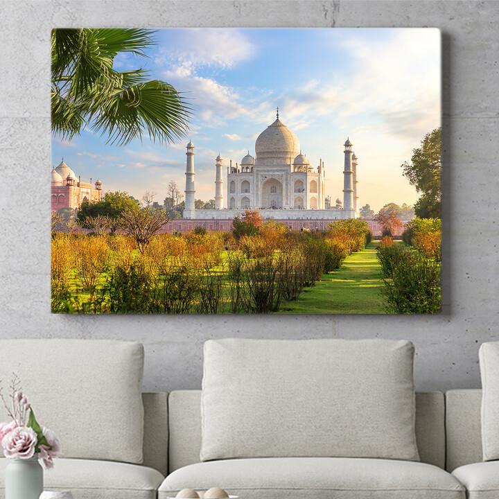 Personalisierbares Geschenk Taj Mahal Indien 2