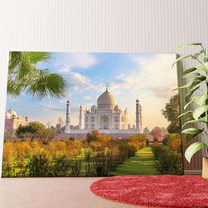 Personalisiertes Wandbild Taj Mahal Indien 2