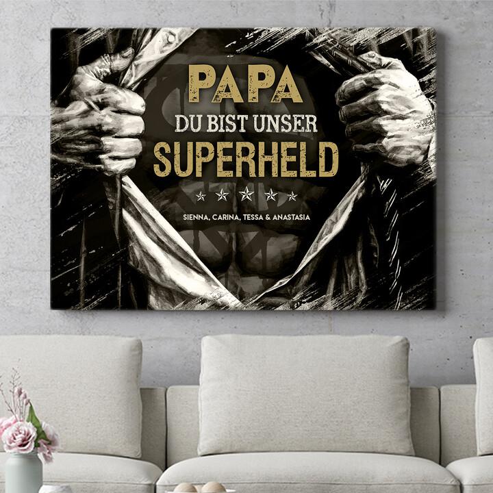 Personalisierbares Geschenk Superheld
