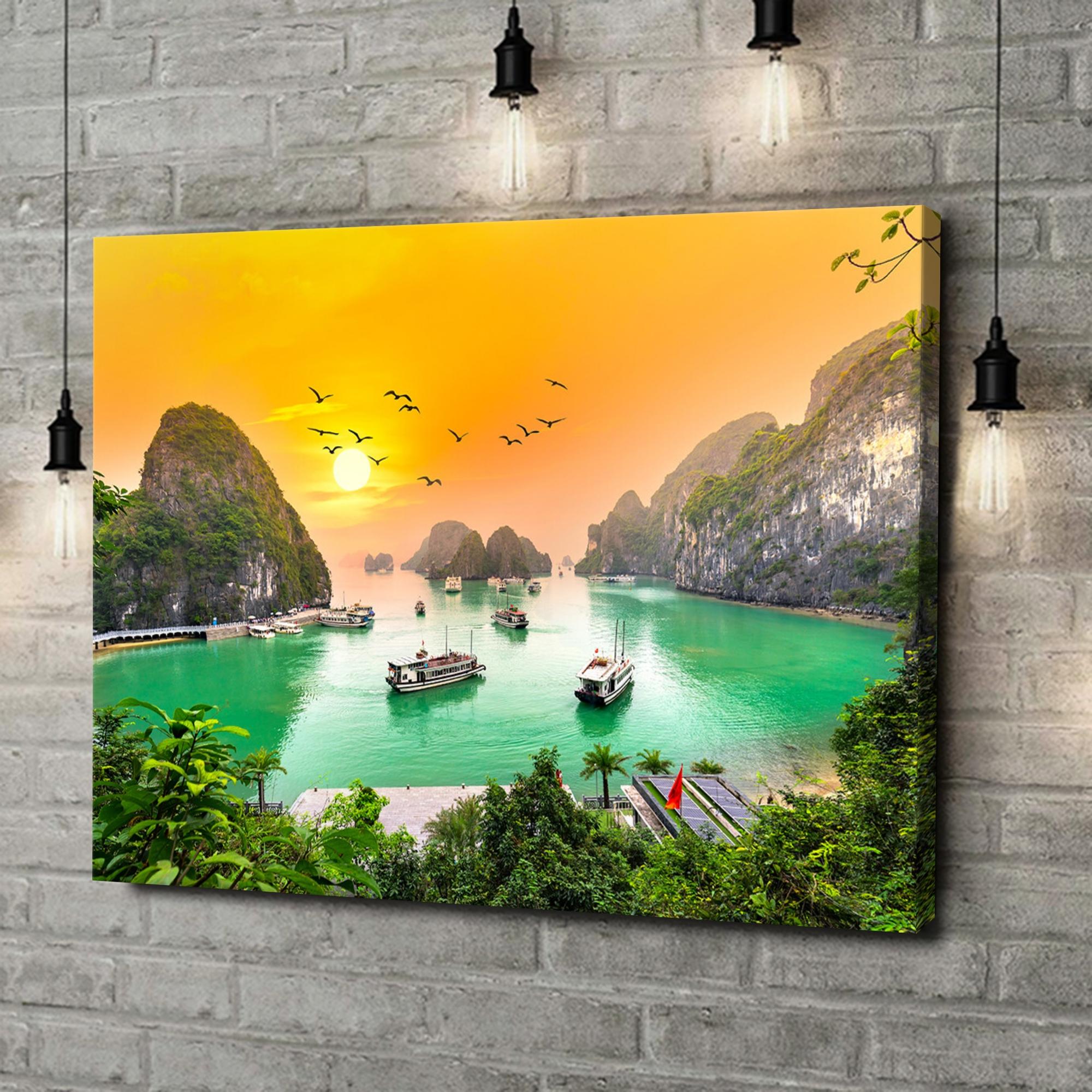 Leinwandbild personalisiert Halong Bay Vietnam