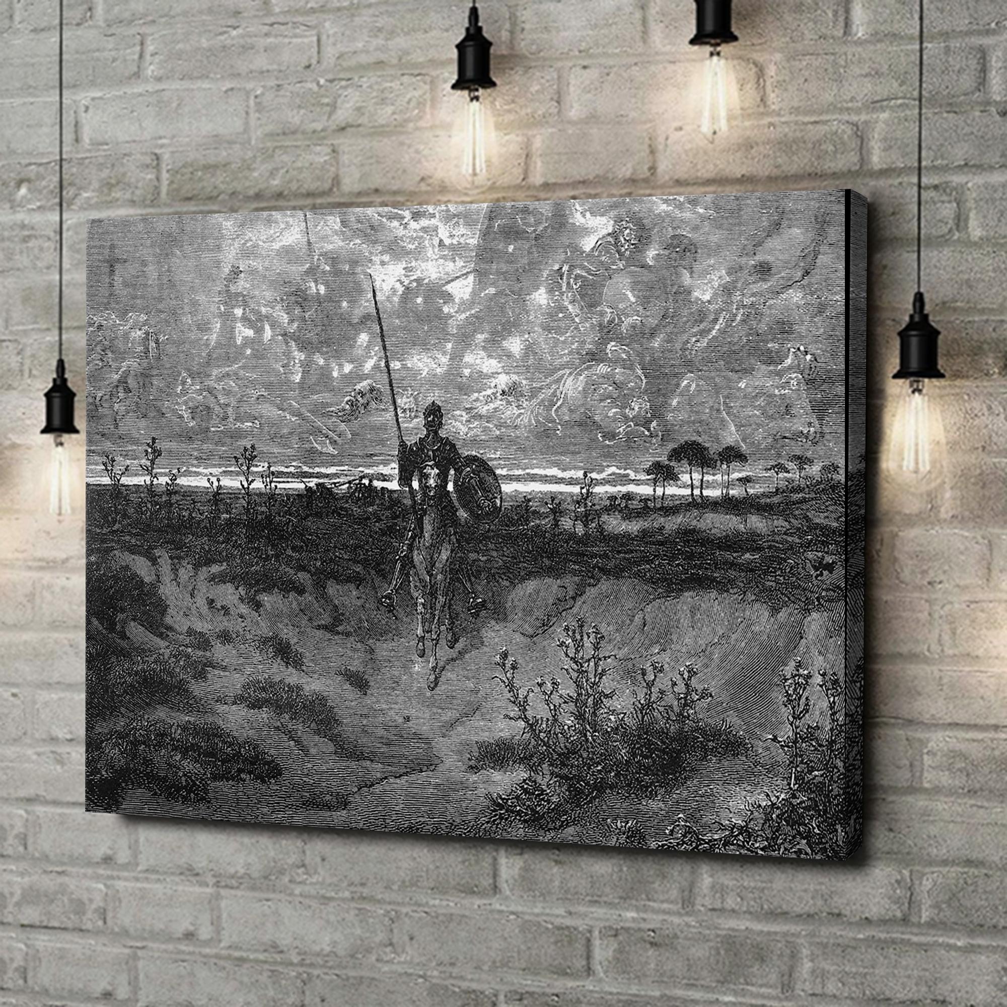 Leinwandbild personalisiert Don Quijote