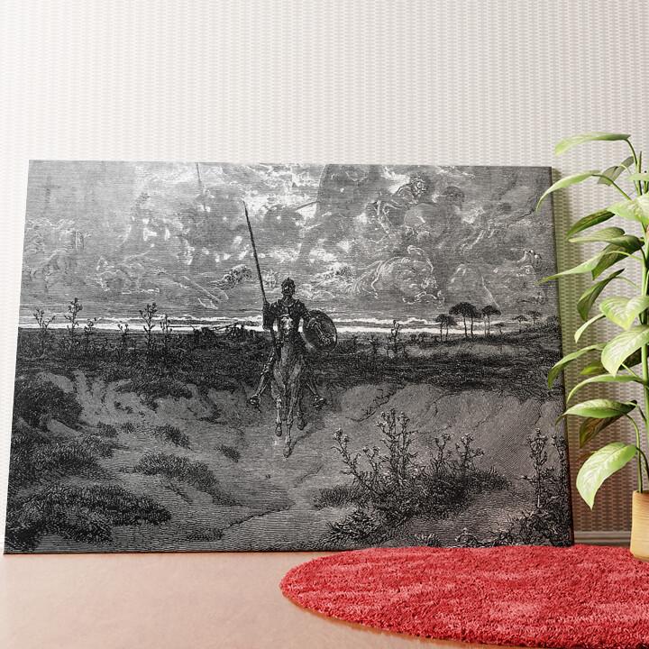 Personalisiertes Wandbild Don Quijote