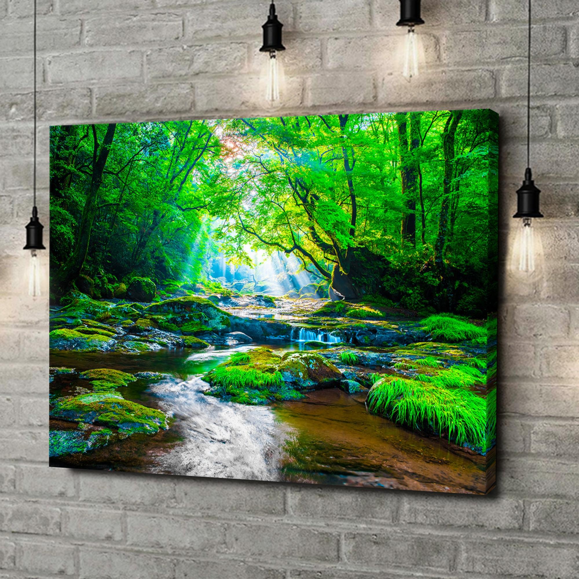 Leinwandbild personalisiert Kikuchi Valley Regenwald Japan
