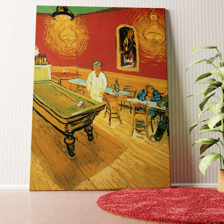 Personalisiertes Wandbild Das Nachtcafé