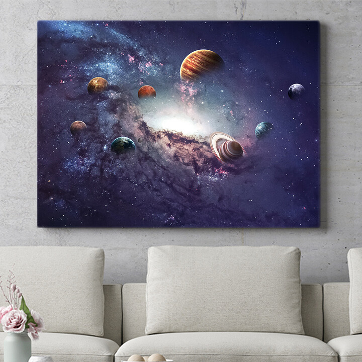 Personalisierbares Geschenk Planetensystem 2