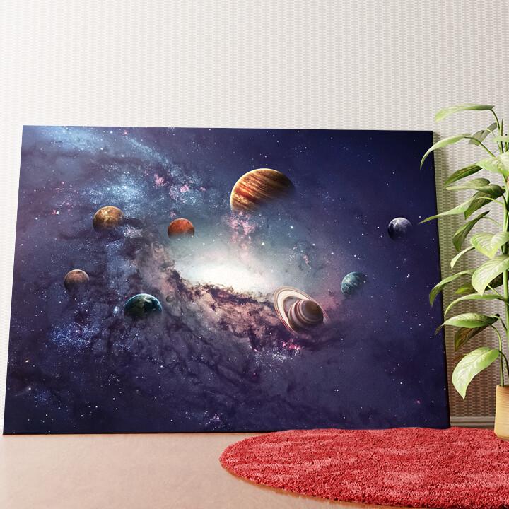 Personalisiertes Wandbild Planetensystem 2