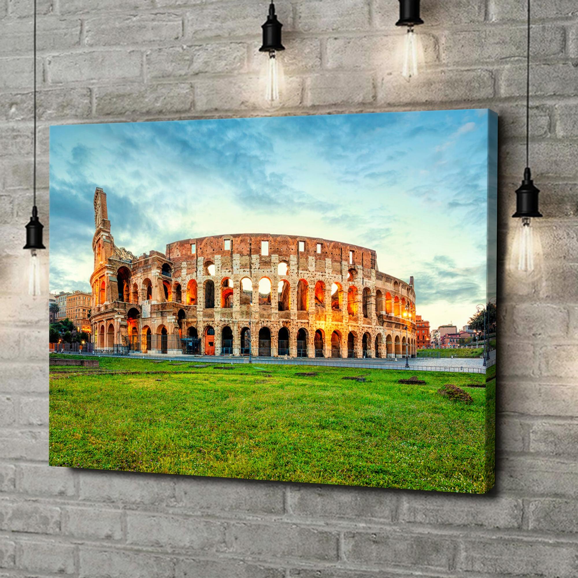 Leinwandbild personalisiert Kolosseum Rom