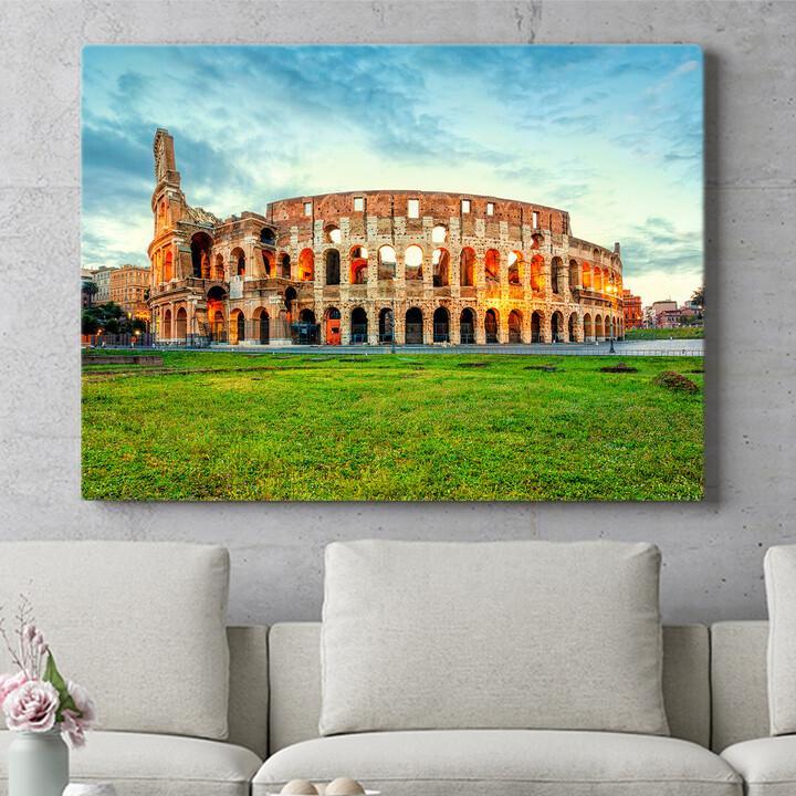 Personalisierbares Geschenk Kolosseum Rom