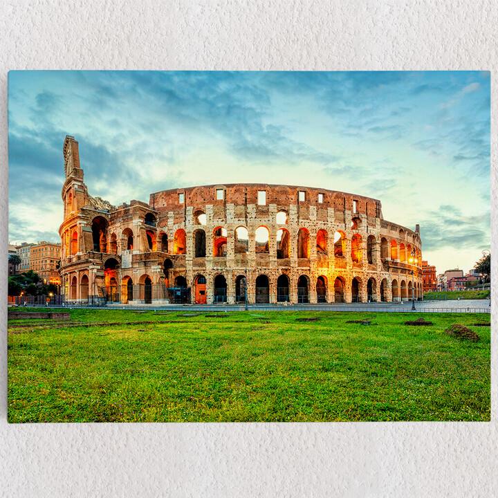 Personalisiertes Leinwandbild Kolosseum Rom