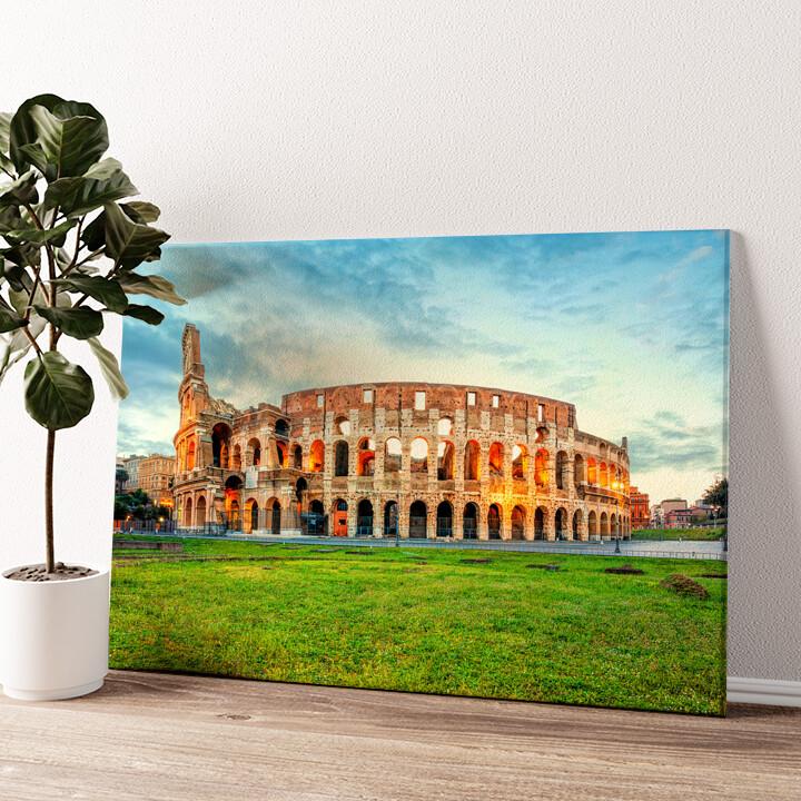 Kolosseum Rom Wandbild personalisiert